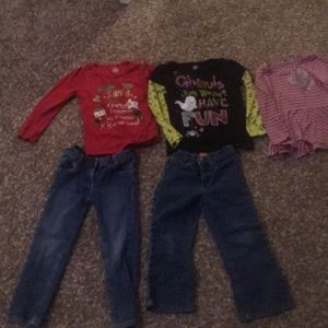 Other - Lot of 4t girls tops and bottoms